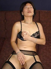 Photos of my cute Asian wife enjoying a nice hard fucking n swallowing warm cum